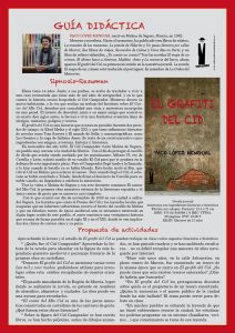 Guía para centros de El grafiti del Cid
