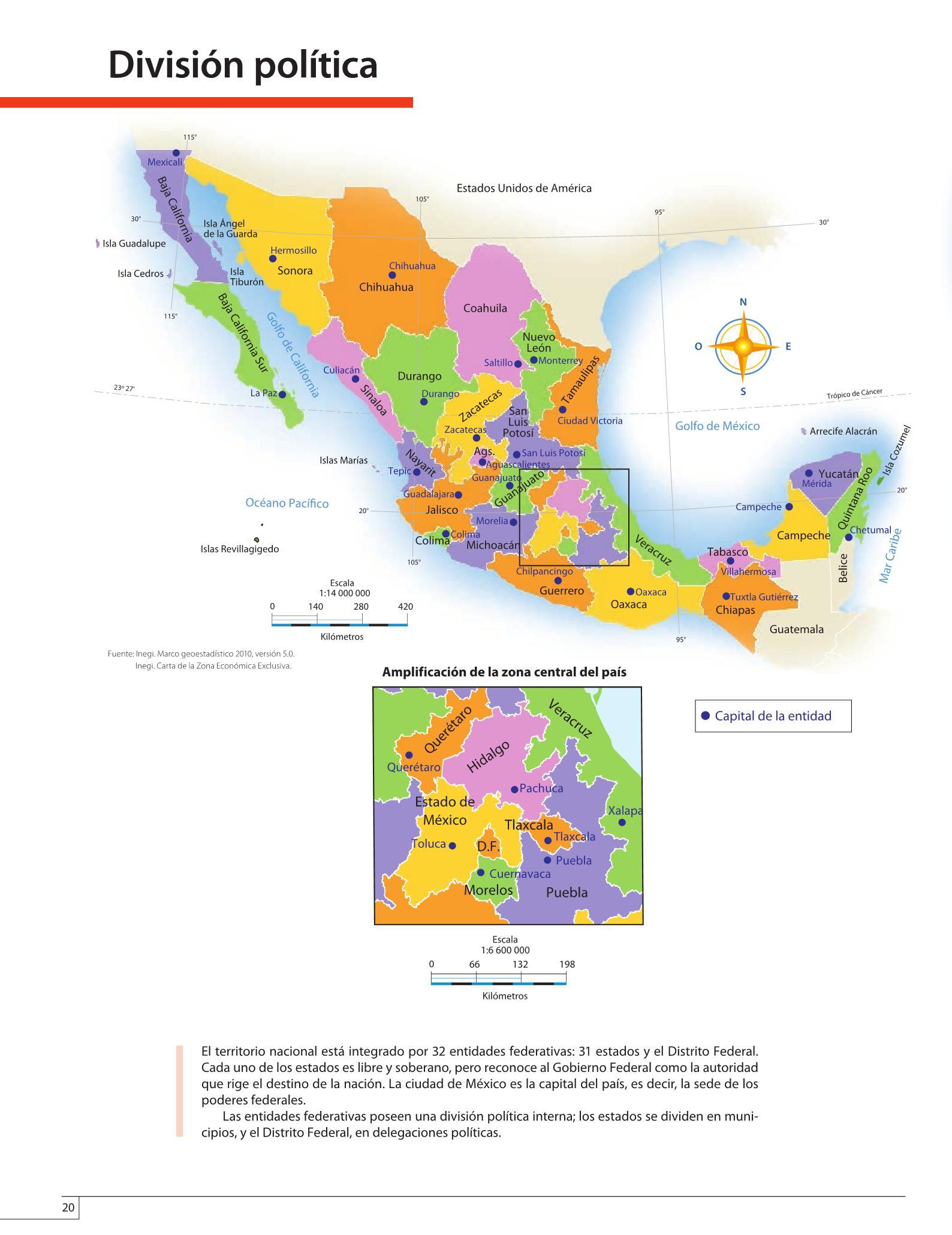 If you know of something we haven't captured in our atlas, let us know at randmcnally.com/tellrand. Atlas De Mexico Cuarto Grado 2016 2017 Online Pagina 20 De 128 Libros De Texto Online
