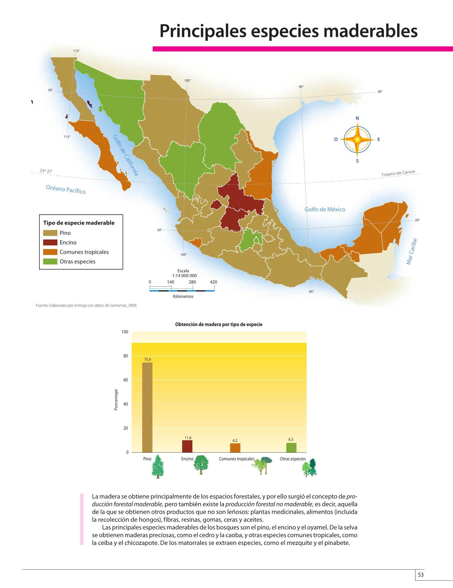 Atlas de geografía del mundo grado 5° libro de primaria. Atlas De Mexico Cuarto Grado 2016 2017 Online Pagina 53 De 128 Libros De Texto Online