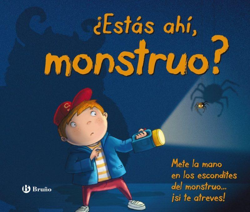 ¿Estás ahí, monstruo? (Castellano - A Partir De 3 Años - Manipulativos (Libros Para Tocar, Jugar Y Pintar), Pop-Ups - Otros Libros) (Español) Tapa dura