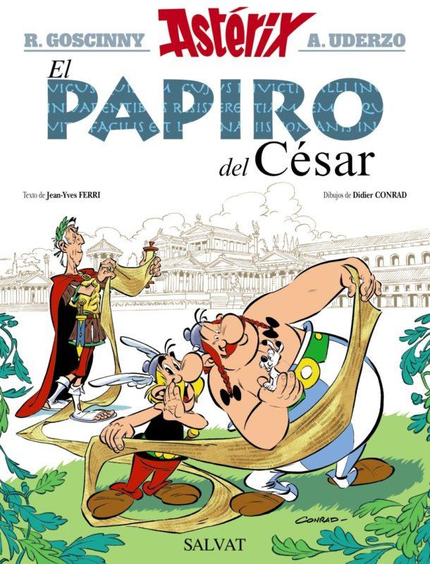 El papiro del César (Castellano - A Partir De 10 Años - Astérix - La Colección Clásica) (Español) Tapa dura