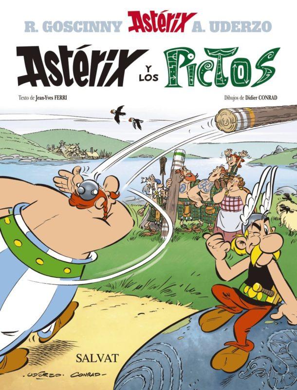 Astérix y los pictos (Castellano - A Partir De 10 Años - Astérix - La Colección Clásica) (Español) Tapa dura