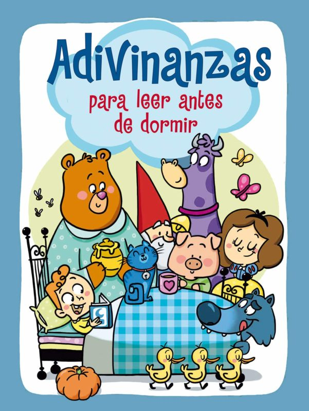 Adivinanzas para leer antes de dormir (Adivina adivinanza) (Español) Tapa dura