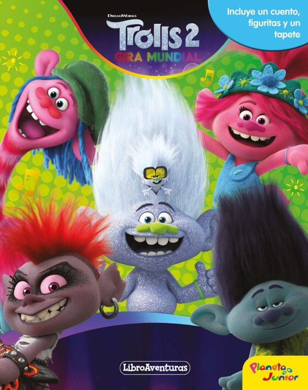 Trolls 2 - Gira Mundial. Libroaventuras (Español) Libro de cartón