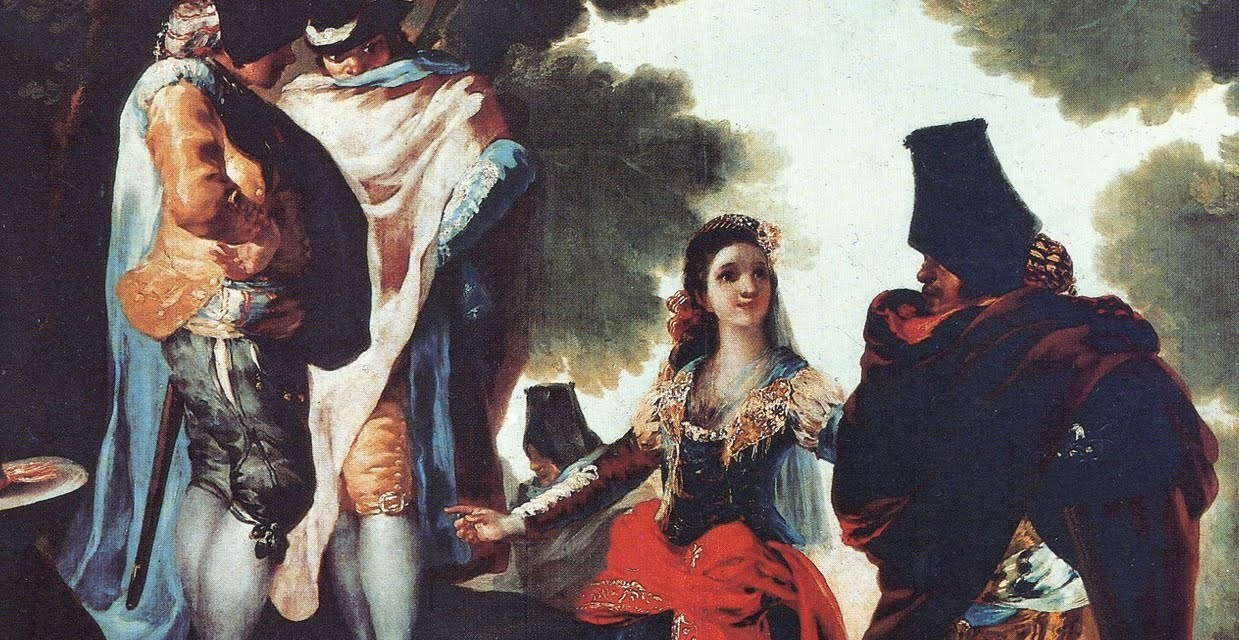 El Madrid del siglo XVIII. Juana Vázquez. Luis de León Barga