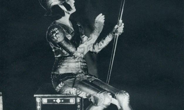 Gabriele D'Annunzio y las piernas de Ida Rubinstein. Luis de León Barga