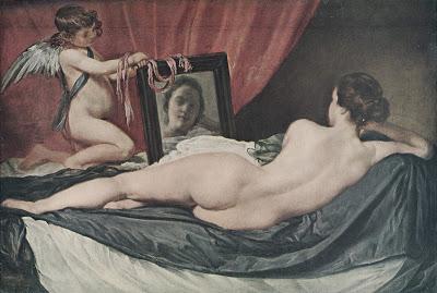 Venus frente al espejo. Concepción M. Moreno
