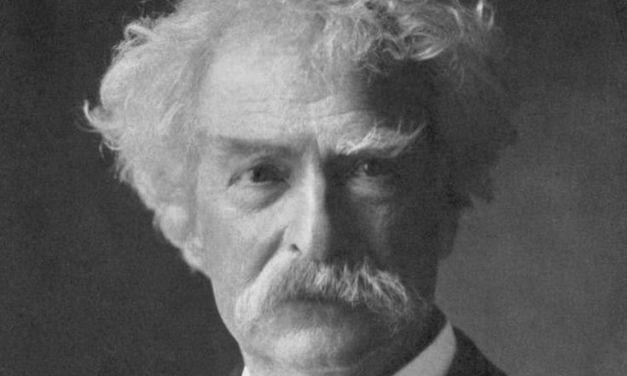 Divino Mark Twain. Enrique López Viejo.