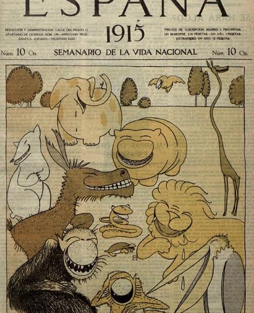"""Luis Bagaría, un dibujante en """"El Sol"""""""