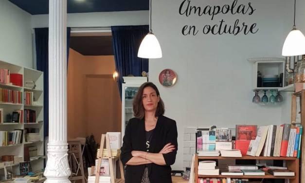 Amapolas en octubre y nueva librería