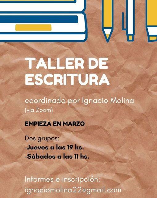 Virtualidad y taller literario (3). Ignacio Molina