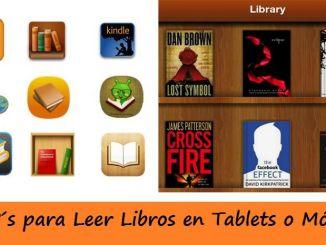 Aplicaciones para Leer Libros en Tablets
