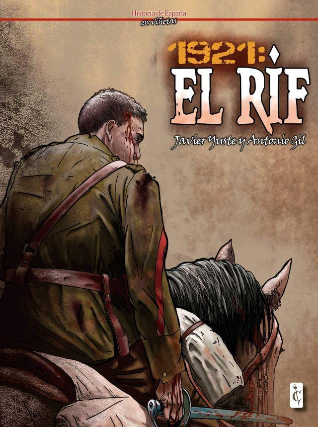 """Javier Yuste y Antonio Gil: """"la correctora nos dijo que corrigiendo el cómic había pasado calor y sed""""."""