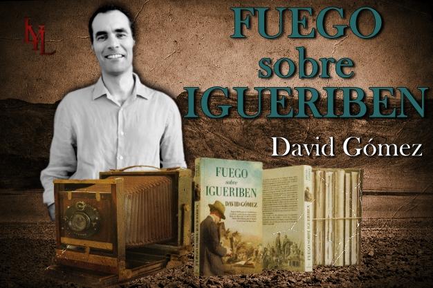 """David Gómez presenta """"Fuego sobre Igueriben"""":  """"Decidí dar la pelea desde mi pequeña trinchera y hacer justicia con los héroes de Annual""""."""