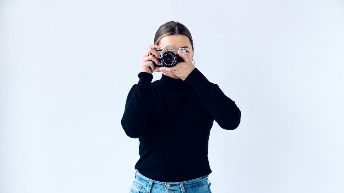 voorbereiden op een zakelijke fotoshoot