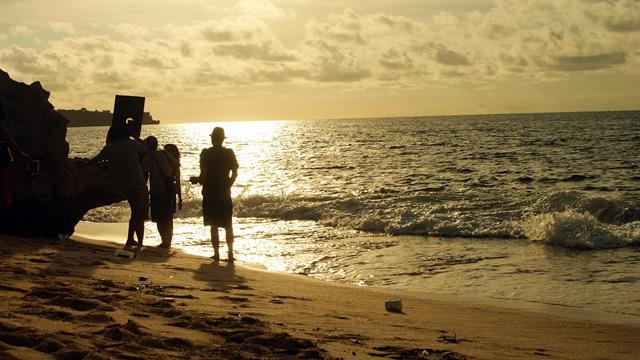 Pantai Tegalwangi hamparan pasirnya tidak terlalu luas seperti yang lainnya.