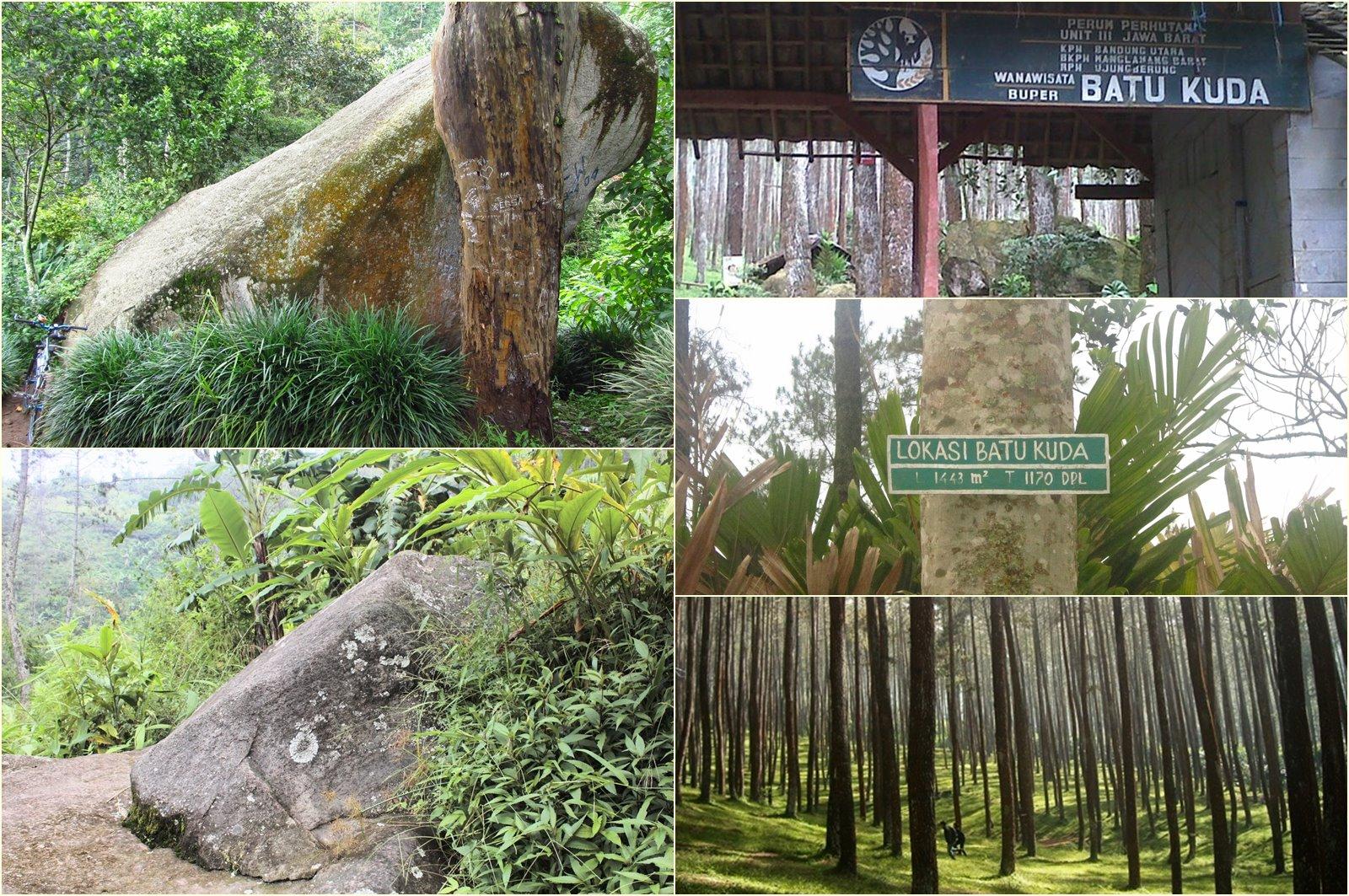Situs Batu Kuda Gunung Manglayang Bandung Yang Penuh Misteri.