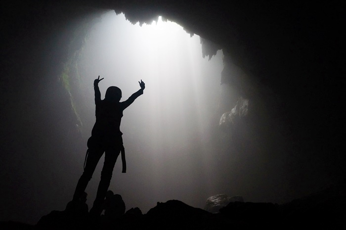 Caving di Goa Jomblang
