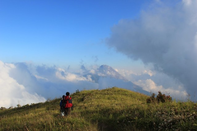Mendaki Gunung Penanggungan (source photo)