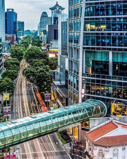 Orchard Road, salah satu destinasi wisata gratis di Singapura yang harus dikunjungi!