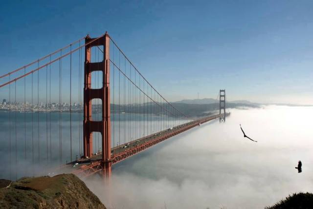 San Fransisco Golden Bridge.