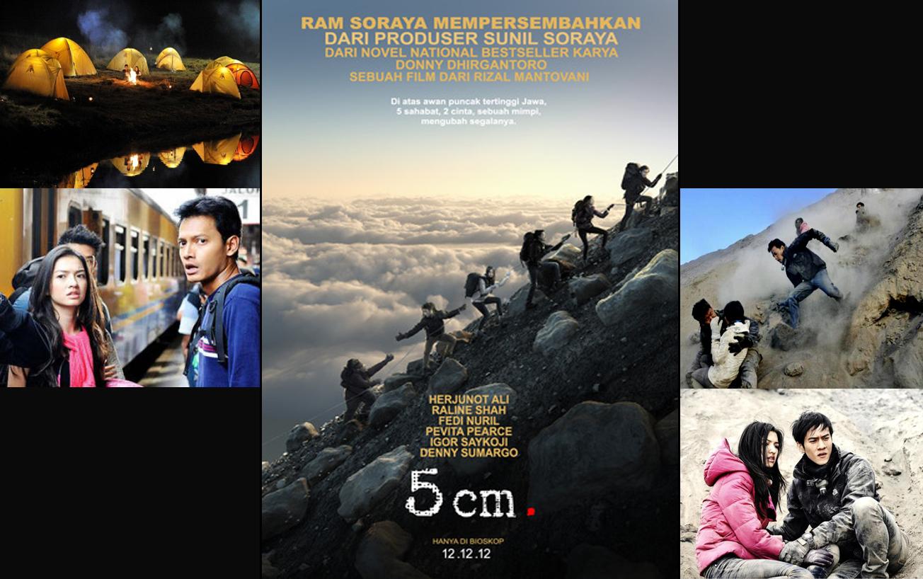 Jangan cuma naik gunung karena nonton film saja :) tetapi pertimbangkan baik - baik sebelum naik gunung :)