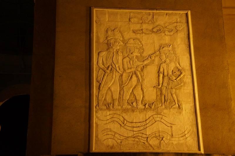 Relief dan ukiran yang ada di tiap sisi monumen (5)