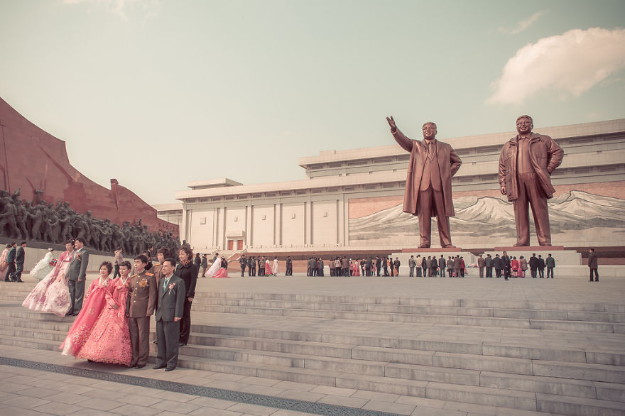 Acara pernikahan di Korea Utara