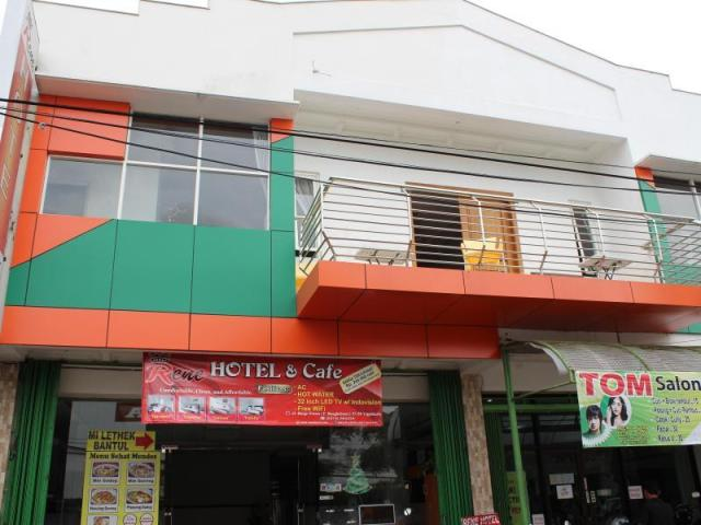 Bagian depan Rene Hotel, Malioboro Yogyakarta