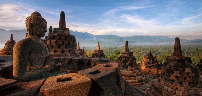 Central Java (Jawa Tengah) - Candi Borobudur