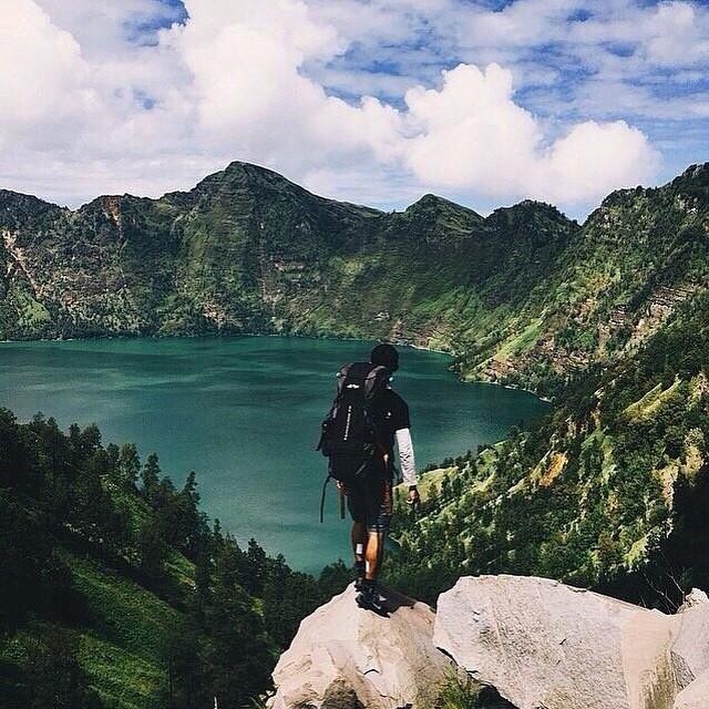 Gunung Rinjani, Lombok, Nusa Tenggara Barat