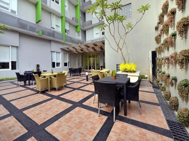 Open space di Whiz Hotel, Malioboro Yogyakarta