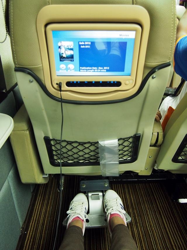 Kenyamanan kursi ergonomis dengan ruang kaki yang lapang