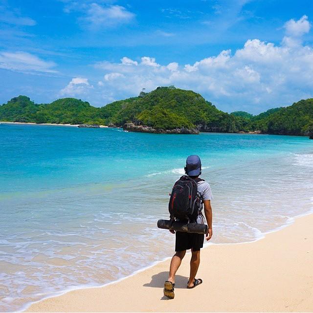 Pantai Gatra, Sendang Biru, Malang, Jawa Timur