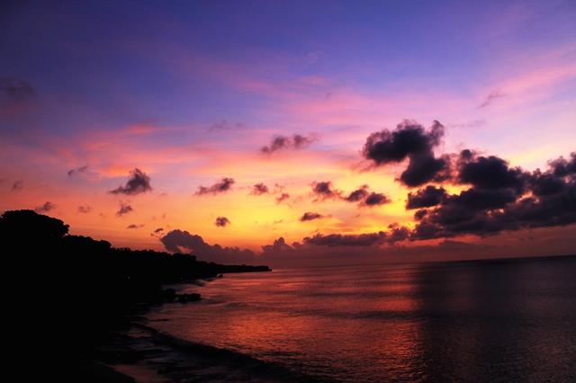 Sisi kiri Pantai Tegal Wangi, Bali