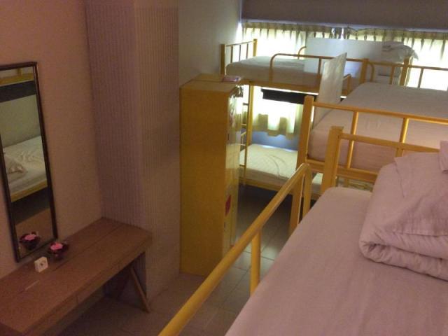 Foto Kamar Pine Hostel Singapura