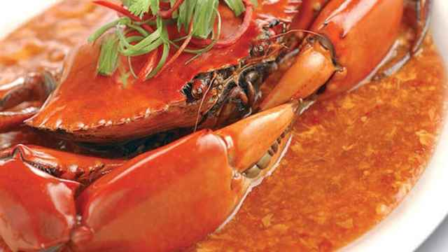 Chilean Crab is a must-try menu in Singapore