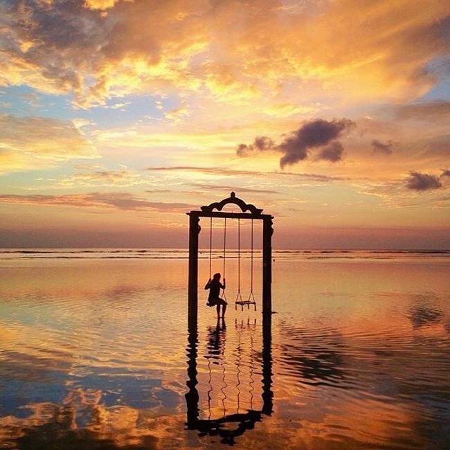 Senja di Gili Trawangan, Nusa Tenggara Barat