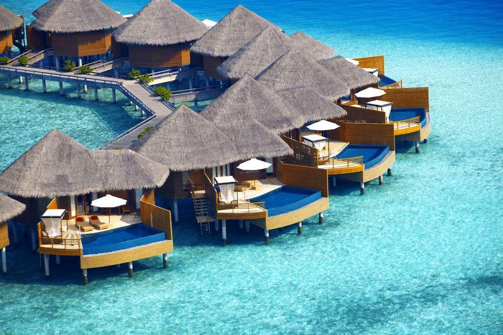 Water village di Maldives