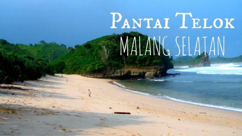 Pantai Telok, salah satu pantai di Malang yang tersembunyi