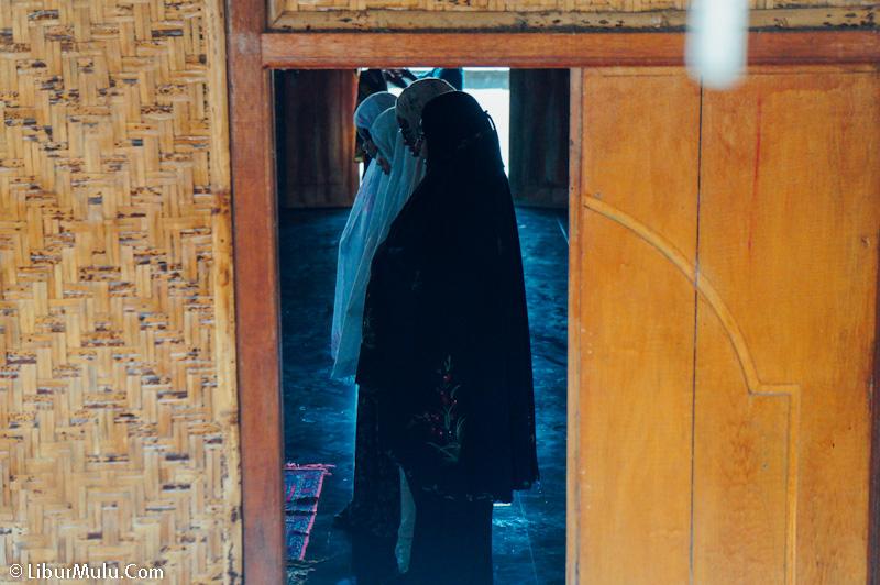 Ada tempat ibadah Masjid di Desa Sade