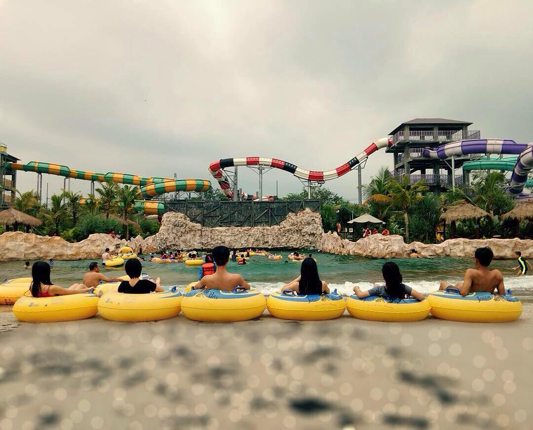 Menurut kalian bagaimana dengan Jogja Bay Waterpark ini by IG @jogjabay
