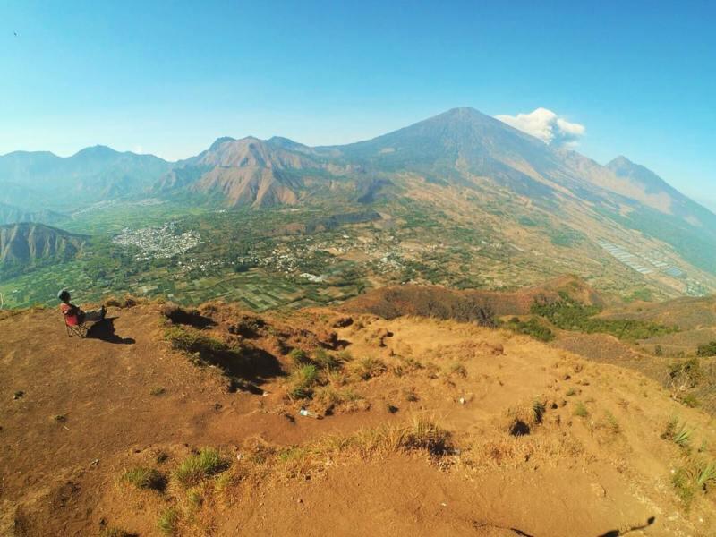 Bisa dibilang, ini adalah salah satu bukit terindah di Lombok!