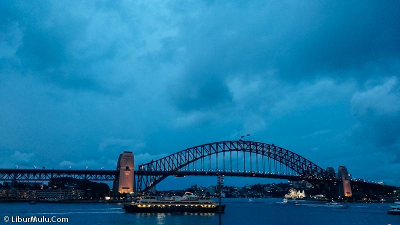 Sydney Harbour Bridge, bangunan ikonik kedua setelah Sydney Opera House