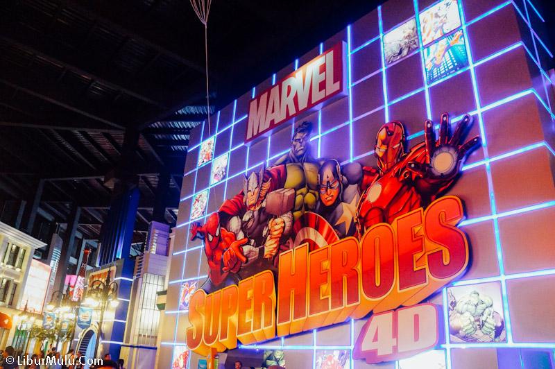 Marvel Super Heroes, Salah satu wahana keren disini