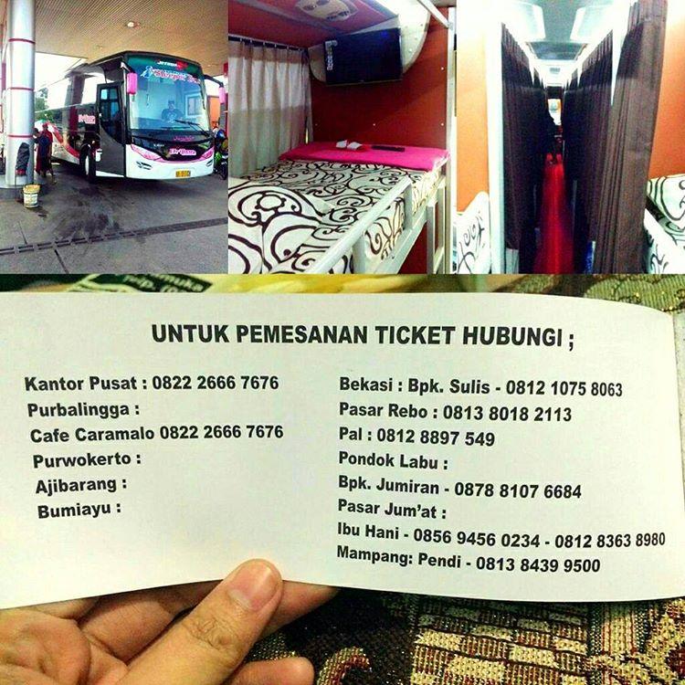 Kalau mau coba naik Bus Sleeper pertama di Indonesia bisa pesan kesini via @bismaniacommunity