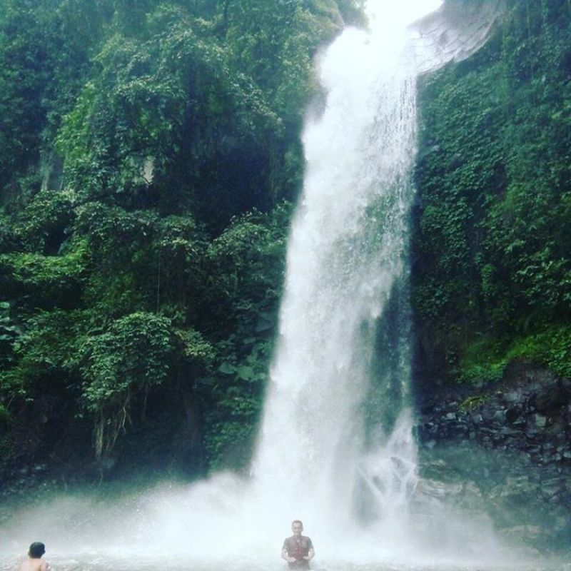 Salah satu wisata air terjun di Malang yang direkomendasikan via @syahrirahmat