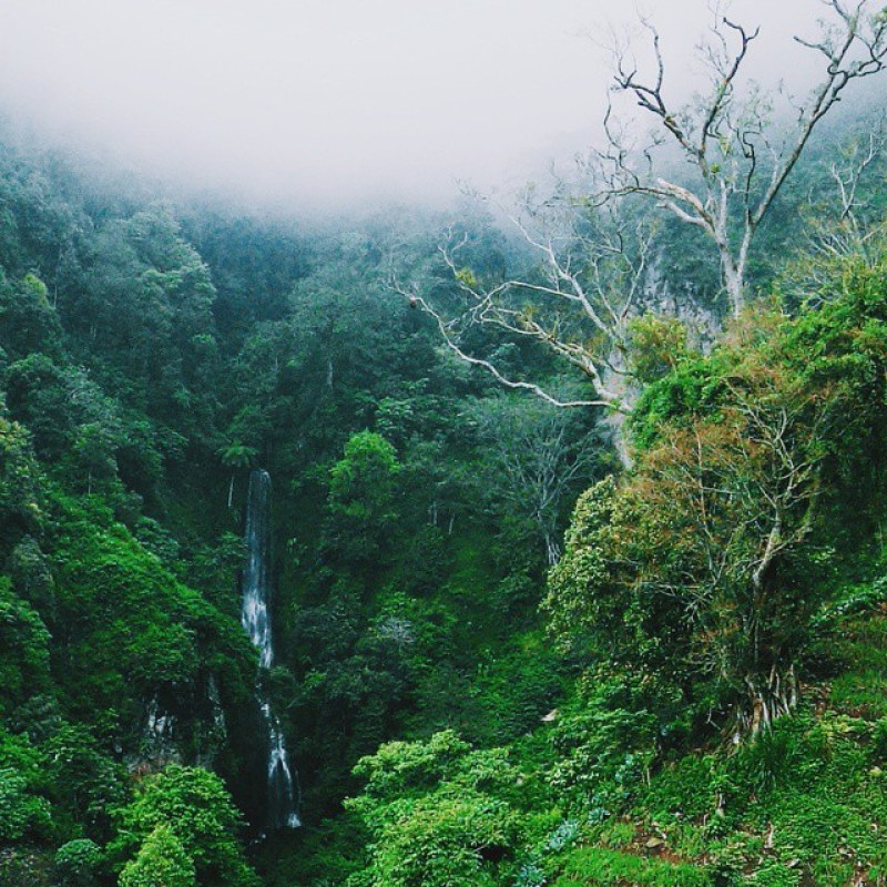 Sure you guys do not want a holiday to Parang Tejo, this cool waterfall in Malang via @aryanidevi [19659045] Believe you guys do not want a holiday to Parang Tejo, this cool waterfall in Malang via @aryanidevi </figcaption></figure> <p> Coban Parang Tejo Waterfall is located in the hamlet of Princi, Gadingkulon Village, Dau District of Malang Regency. To get here, you must menemph distance of approximately 20 KM from the center of Malang. Somewhat distant indeed, but it does not hurt if you play here </p> <h3> 7. Coban Glotak Falls </h3> <figure id=