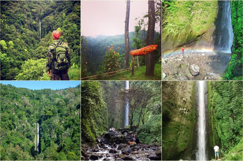 Coban Glotak, Wisata Air Terjun Di Lereng Gunung Kawi
