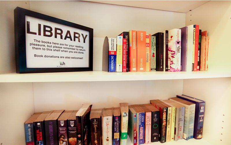 Ada banyak buku yang gratis untuk dibaca di Wink